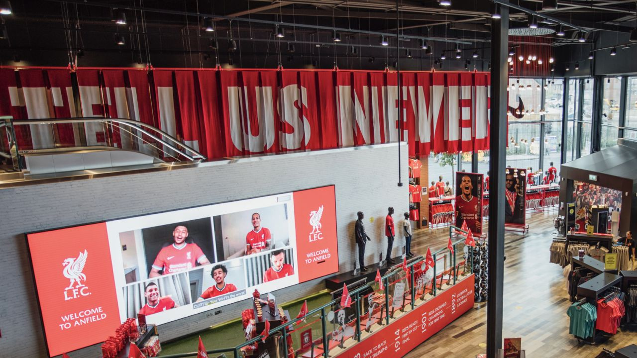 Nike Liverpool Store Launch